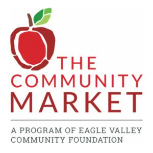 the community market logo